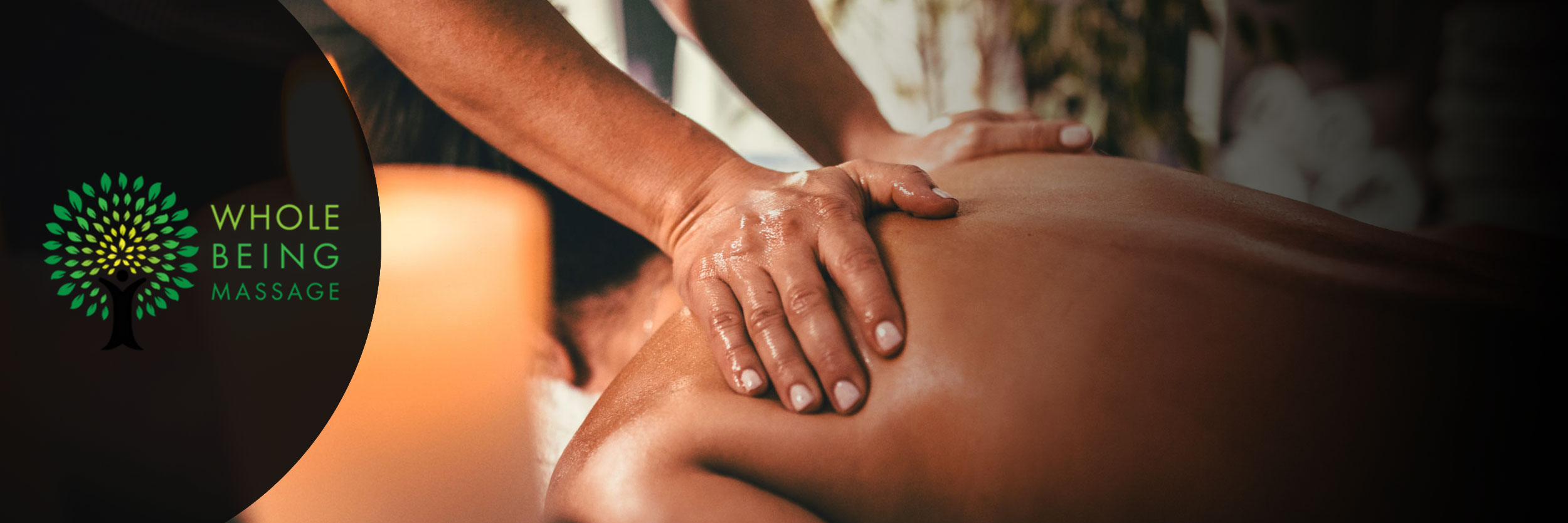 Banner for Whole Being Massage